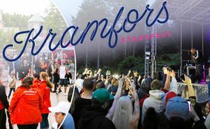 Kramfors Folkfest går tillbaka till namnet Kramfors Stadsfest – och hålls som vanligt helgen 15-16 juni.