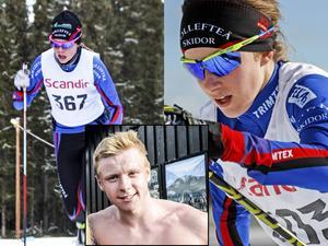 Jenny Solin, Ebba Andersson och Hugo Jacobsson är tre av de unga sprinttalangerna som tävlar i JVM i dag.