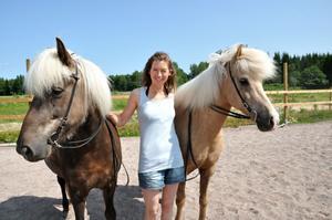 Mailinn Solér vill att gården ska bli en knytpunkt för islandshästar.