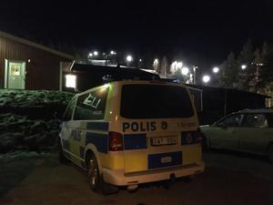 Polisen har upprättat en central vid Bjursås Skicenter.