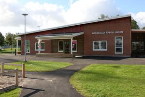 I maj 2018 togs första spadtaget av den nya förskolan Äppellunden. Nu, ett år senare, invigdes den med ballonger och aktiviteter.
