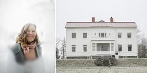 I en prästgård på 400 kvadratmeter i Ede bor konstnären Susanne Perry.