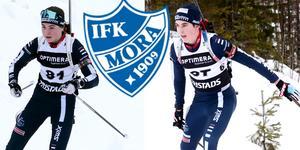 Sara Andersson och Erik Larsson är båda framgångsrika skidskyttar. Nu får de chansen i juniorlandslaget i längdskidåkning också.