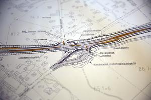 Detalj ut Trafikverkets skiss.
