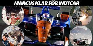 Marcus Ericsson är nu klar för Indycar 2019