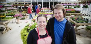 Vid årsskiftet tog Anette och Anders Wirén över Wiréns handelsträdgård i Hertsjö utanför Bollnäs.