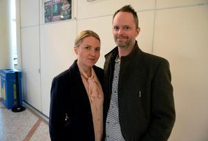 Jennie Ölmerud och Fredrik Ölmerud från Alnö.