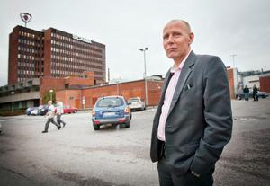 Hans-Åke Danielsson, presschef, Scania.