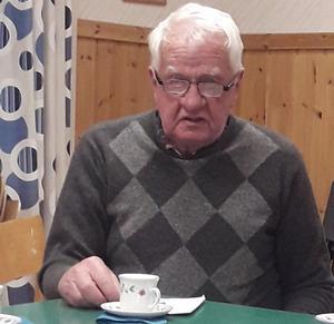 Arne Öberg redogör för PRO:s mycket omfattande program.
