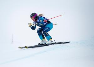 Lisa Andersson från Gävle Alpina är uttagen till OS i skicross. Bild: Christine Olsson/TT