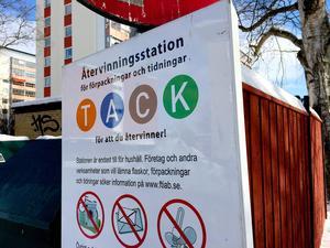 Signaturen Hörnettsbo tycker inte att kommunen ger förutsättningar för att kunna återvinna på ett bra sätt.
