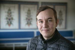 Sebastian Larsson (M), ordförande för utskottet för samhällsbyggnad i Leksand.