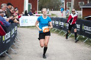 Maja Falk, Ulricehamn, vann damklassen.
