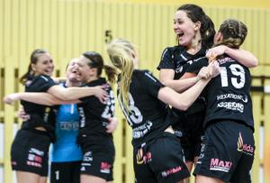 Maja Allgulander svarade ensam för 13 av Strands totalt 31 mål i matchen.