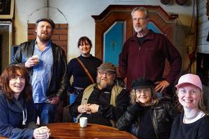 Sharon Rider, Anders Olsson, Lo Engman, Jonas Engman, Michael Gustavsson, Berit Engman och Frida Sjögren.