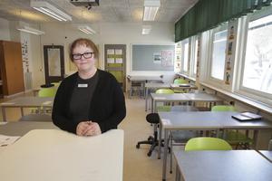 När det gäller nedskräpning så tycker jag att det blivit mycket bättre på senare år, säger Agneta Carlsson Byström, rektor vid Kyrkskolan.