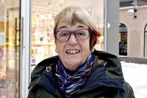 Agneta Lundgren, 80 år, pensionär, Södertälje: