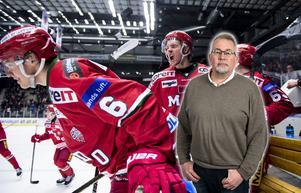Mattias Norlinder och Victor Berglund är två spelare som Modo hoppas få bygga vidare på, skriver sportens och Hockeypuls Per Hägglund. Bild: Erik Mårtensson/TT