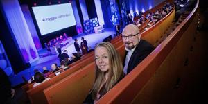 Regionrådet Elin Jensen och riksdagsledamoten Per Söderlund är två av länets starka ansikten som i helgen är med och stakar ut Sverigedemokraternas framtid.