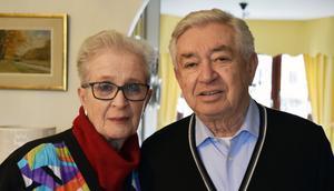 Monica och Tobias Rawet.