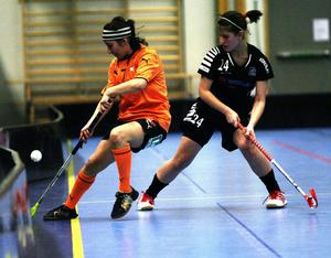 Sundsvall IBF:s back Carolina Lopez var bland planens bästa spelare i segermatchen mot Fränsta.