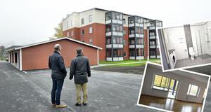 Snart är det dags för de första hyresgästerna att flytta in i Krambos nya hyreshus Monarken på Kungsgatan i Kramfors.