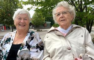 Ann-Britt Forsberg och Ingrid Olsson.