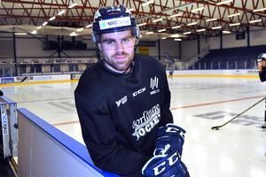 Filip Halvordsson, tidigare i Mora IK, är ett av Borlänges starka nyförvärv på backsidan.