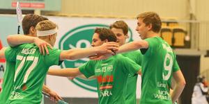 Isak Palmén (längst till höger) har spelat i Lillån hela livet.