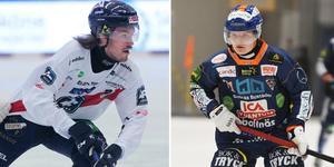 Det blev irriterat mellan Matteus Liw och Kasper Milerud i den första halvleken och båda två fick sätta sig 10 minuter efter en liten brottningsmatch.