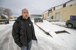 – Det var väldigt snopet, säger Anders Björklund om när de anställda i morse insåg att hela borrmaskinen var stulen.