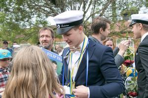 Filip Walstad siktar på att bli polis i framtiden.