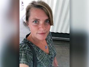 Cecilia Fielding, legitimerad psykolog, på Kriminalvården. Jobbar med behandling av sexualbrottsdömda.  Foto: Privat.