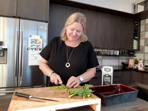 Susanne Svensson, f d Boström, växte upp i Hudiksvall men bor numera i Kalmar med sin familj. Foto. Privat