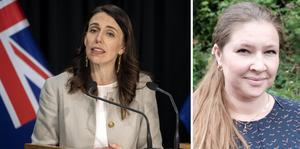 På Nya Zeeland har parlamentet lagstiftat om att par som drabbats av missfall eller dödfödsel numera har rätt till tre dagars betald ledighet, skriver Malin Lernfelt. På bilden: Jacinda Ardern, premiärminister på NZ.