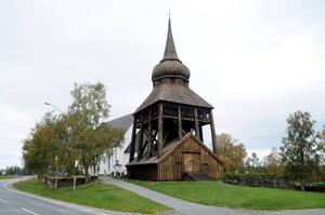 Frösö kyrka. Arkivbild. Fotograf: Atle Morseth Edvinsson.
