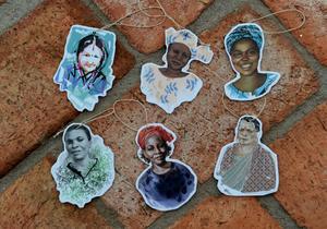Hungerprojektet har samarbetat med sex svenska illustratörer.
