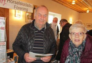 Byamässan i Logården lockade många utställare. På plats fanns bland annat Hörselskadeföreningen, med Bengt Gereonsson i spetsen.