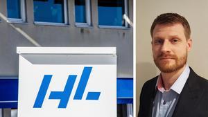 Lars Ämtenmyr gläds åt att fabriken växer. Foto: ST / HL Display