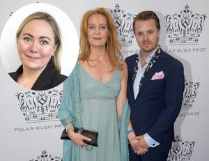 Kärleken mellan en äldre kvinna och en yngre man är inte så ovanlig som vi tror. Ett exempel ur kändisvärlden är Maria Lundqvist och Kristoffer Hellström. Hon är 18 år äldre än han. Bild: Anders Wiklund/TT (ej montage)
