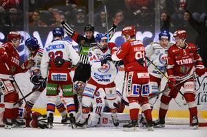 Timrå kämpade och slet. Vann tre hemmamatcher mot fräcka uppstickaren från Hockeyallsvenskan, IK Oskarshamn, men förlorade alla tre bortamatcherna också, och så skulle allt avgöras i en sjunde match hemma i Timrå.
