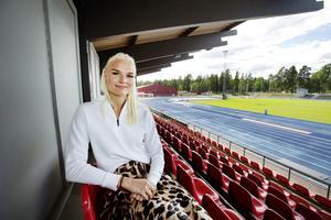 Louise Ekman är klar för hemmamästerskapet på Gunder Häggstadion.