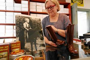 Lilian Edström, som är projektledare och ordförande i föreningen Gata upp och gata ner - Kumlaminnen, blev överlycklig för att bidraget beviljades till filmprojektet. Hon tycker att det är ett erkännande att deras idé var riktigt bra. Tanken med filmerna är att ortsborna ska få ökad kunskap om hembygdens historia. Arkivfoto: Jan Wijk/NA
