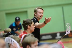 Tom Nilsson under tiden som tränare för Granlo BK.