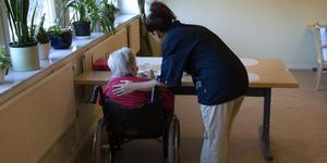 Många som jobbar med äldre och funktionsnedsatta vill jobba heltid.