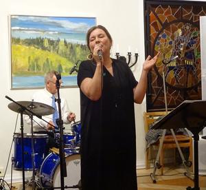 Swingbandets frontfigur Maria Bervelius har så mycket känslor som hon vill få ut till sin älskade publik.