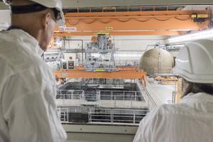 Bilden är från det stängda kärnkraftverket i Barsebäck som nu monteras ned.FOTO: Anders Ahlgren/SvD/TT