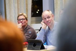 Centerpartisterna Marina Nilsson och Bengt-Olov Renöfält snuvades på flera poster under fullmäktige.