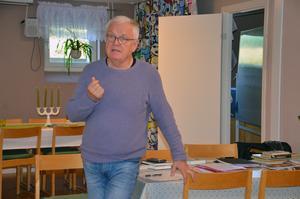 Tord Andersson är lärare på Gysinge och  håller i kurserna i Hudiksvall.