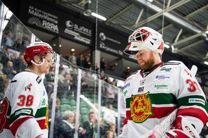 Den finske Janne Juvonen anslöt Mora efter skador på målvaktssidan. Foto: Petter Arvidson / BILDBYRÅN